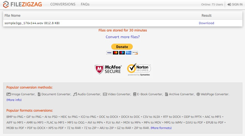 MPEG to MP3 (Online & Free) — Convertio
