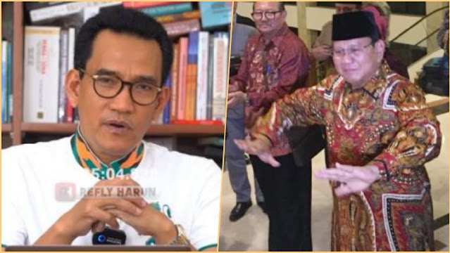 Pendukungnya 'Dijerat' Satu per Satu, Refly Harun Berharap Prabowo Sadar