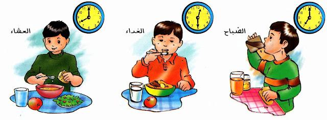 بحث حول التغذية عند الإنسان