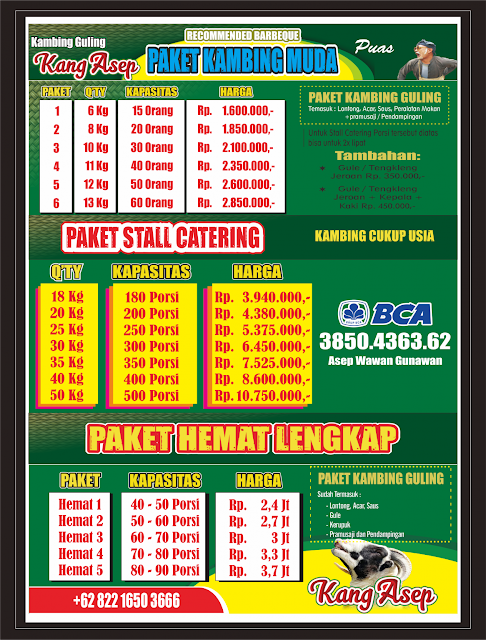 Harga Kambing Guling di Bandung Bulan Juni 2020,harga kambing guling di bandung 2020,kambing guling di bandung,kambing guling bandung,kambing guling,