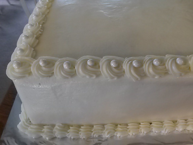 CAKES BY BRENDA  Great Falls  Montana   Wedding sheet cake   Laneya 6 16 Wedding sheet cake   Laneya 6 16