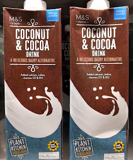 M&S Coconut & Cocoa Drink