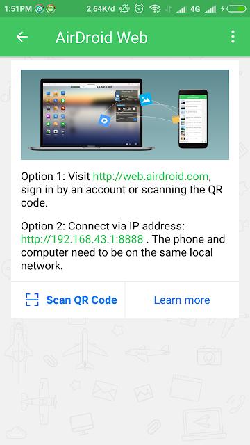 Apliasi AirDroid Memudahkan Transfer File Android Tanpa Menggunakan Kabel USB