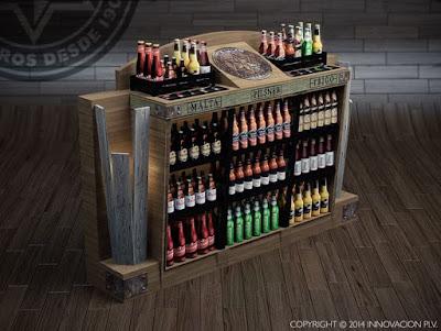 Expositores PLV Cerveza Artesanal