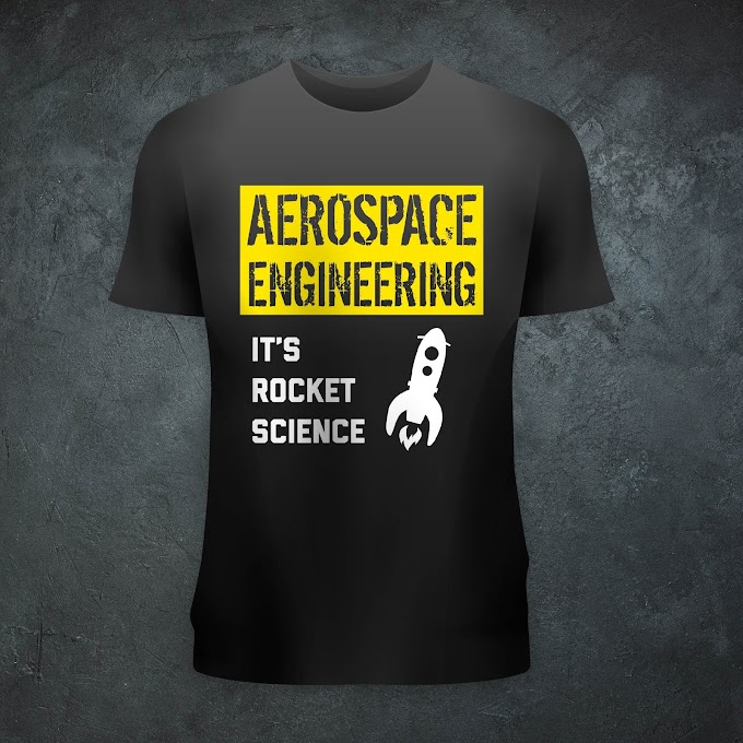 Aircraft Nerds Rocket Science Unisex T-shirt