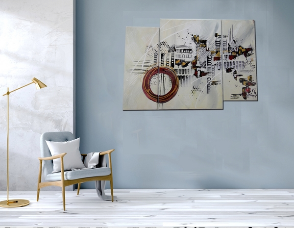 Peinture abstraite originale design à vendre