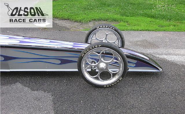 Custom Dragster, Olson Race Cars, New Castle, Indiana
