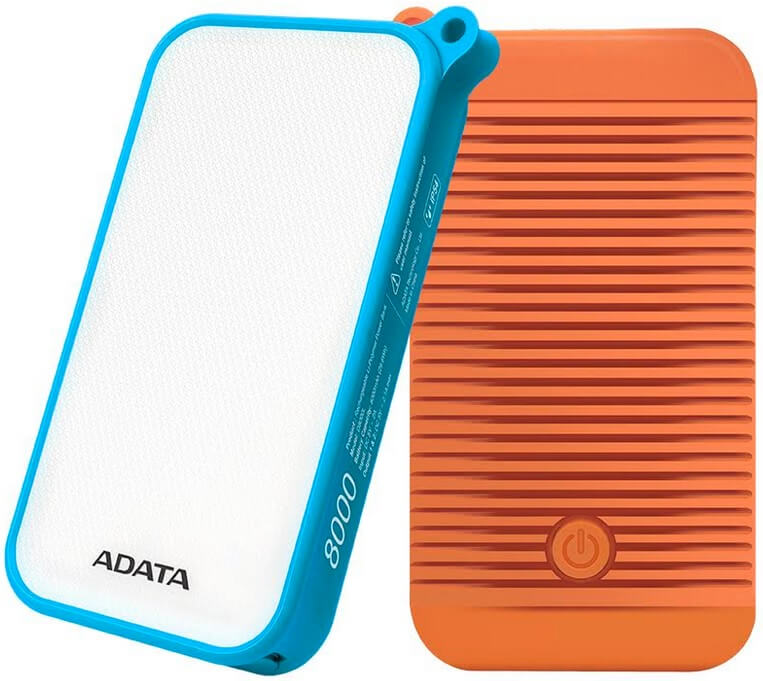 ADATA Launches D8000L Power Bank that Doubles as LED Light Source