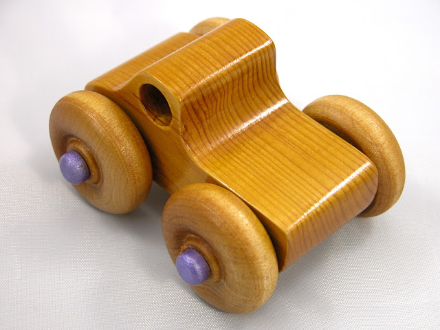 Handmade - Wooden Toy Truck - Play Pal - Monster Truck