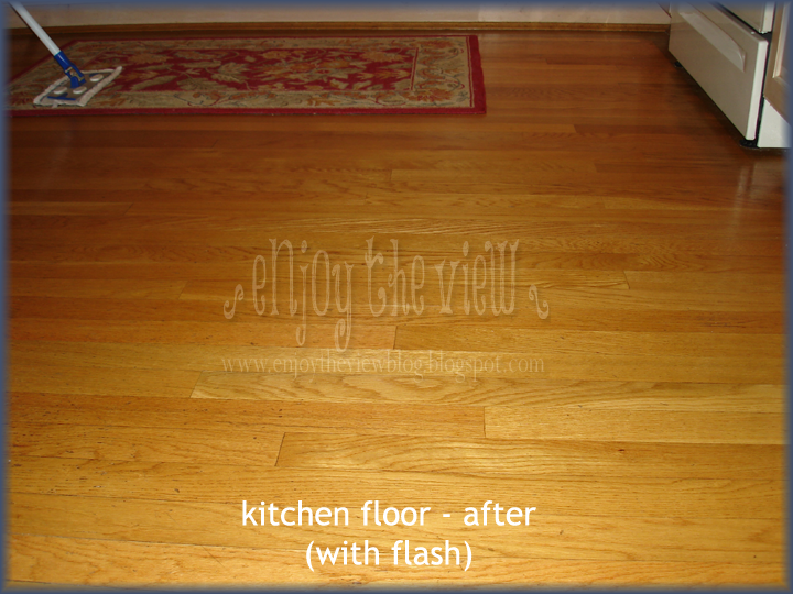 oak kitchen floor