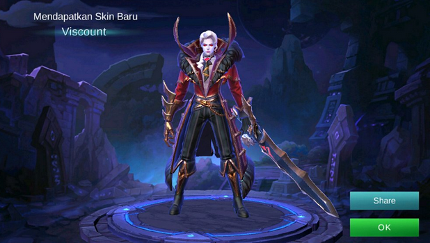 Script Skin Alucard Viscount ML