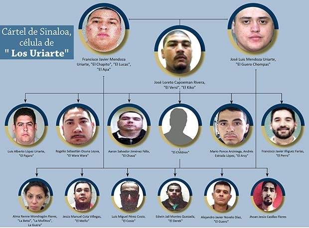 """Los 3 frentes de Cártel de Sinaloa """"Los Aquiles, Los Uriarte y Los Tigres"""""""