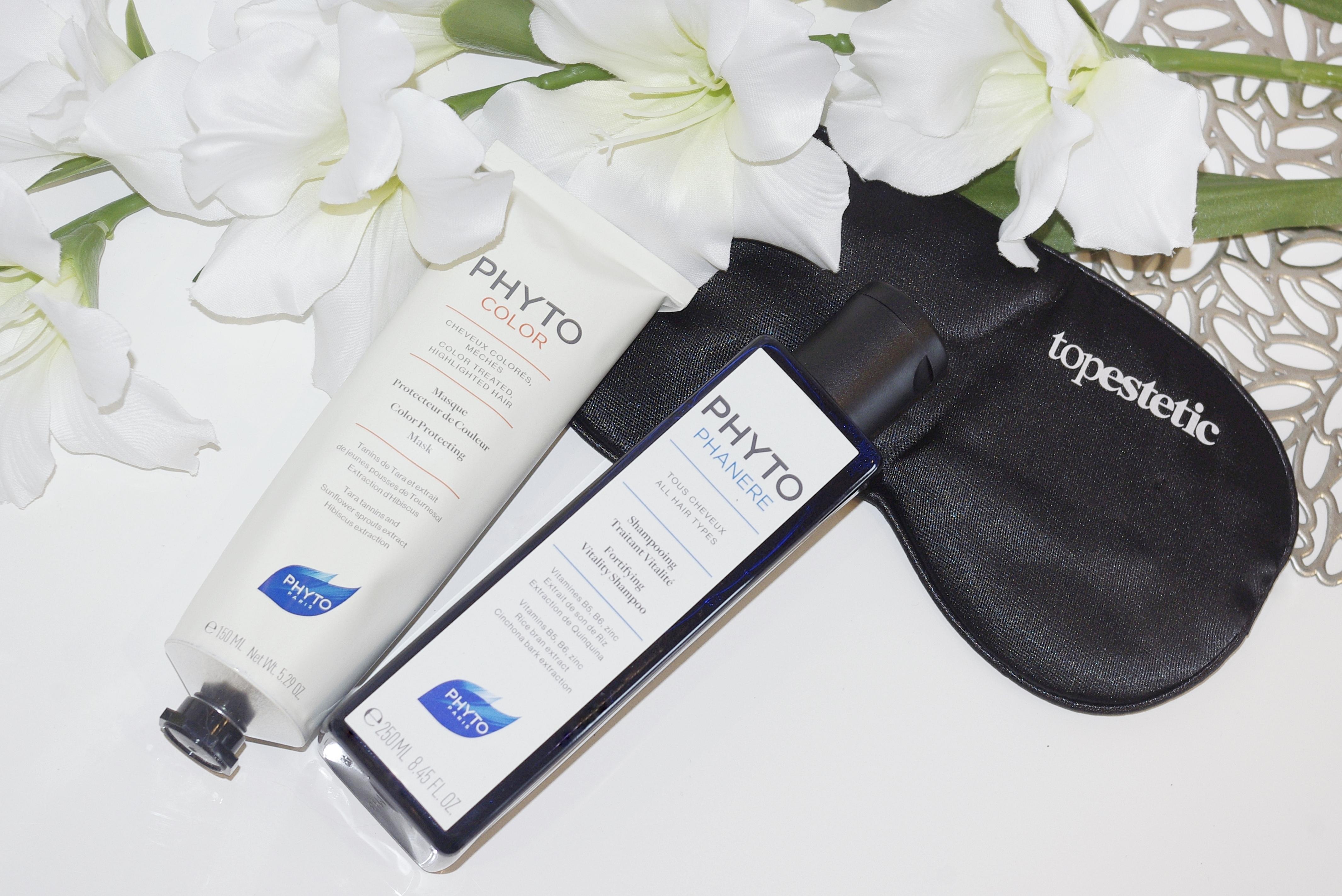 Phyto Phanere, Wzmacniający Szampon Rewitalizujący maska do włosów Phyto Color Protecting Mask