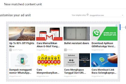 Cara Memasang Iklan Adsense Matched Content pada Template Viomagz