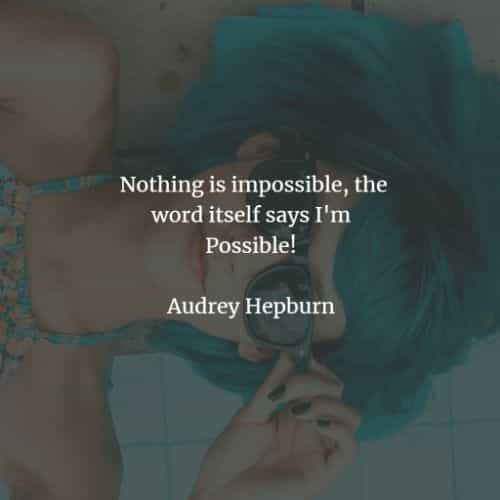 Famous quotes and sayings by Audrey Hepburn