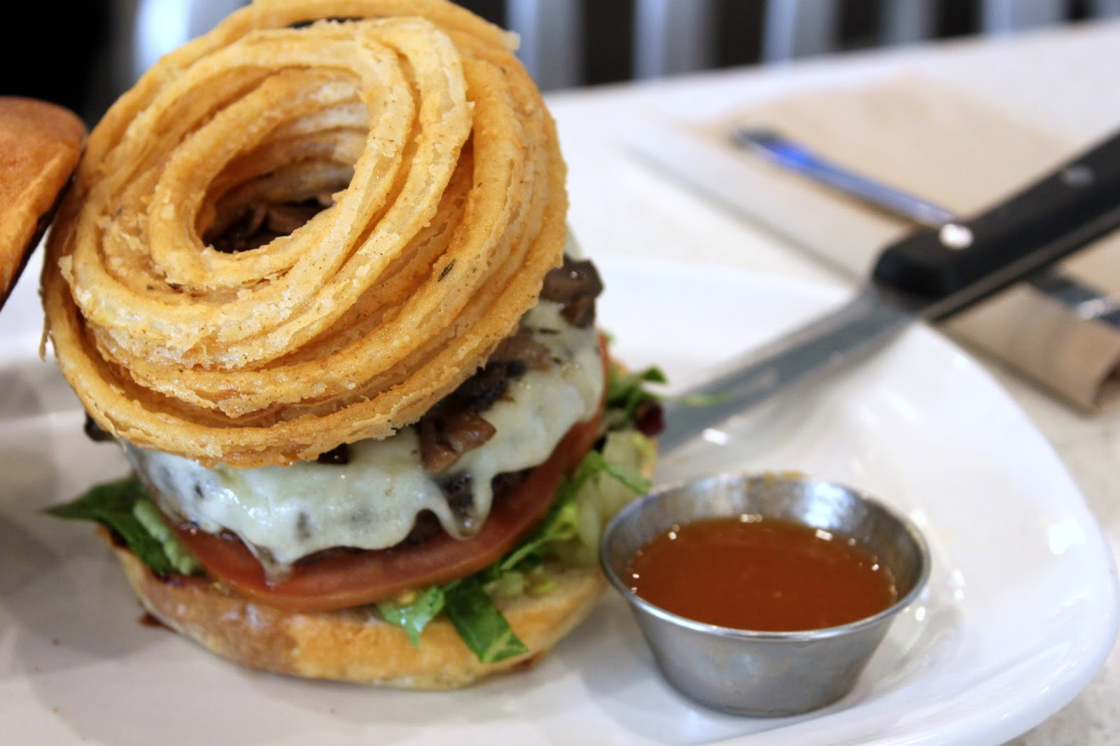 Burger - Plated Dish - Point of Interest