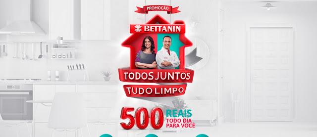 Cadastrar na Promoção Produtos Bettanin 2020 Todos Juntos, Tudo Limpo