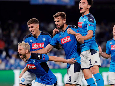 Highlight Napoli 2-0 Liverpool, 18 September 2019