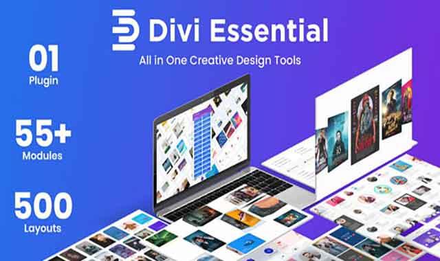 تحميل اضافة Divi Essential 4.2.0 مجانا