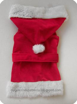 santa claus dog clothes free patterns & Santa Claus dog outfit patterns   FREE PDF DOWNLOAD