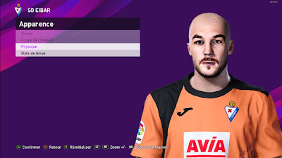 PES 2020 Faces Marko Dmitrović by Milwalt