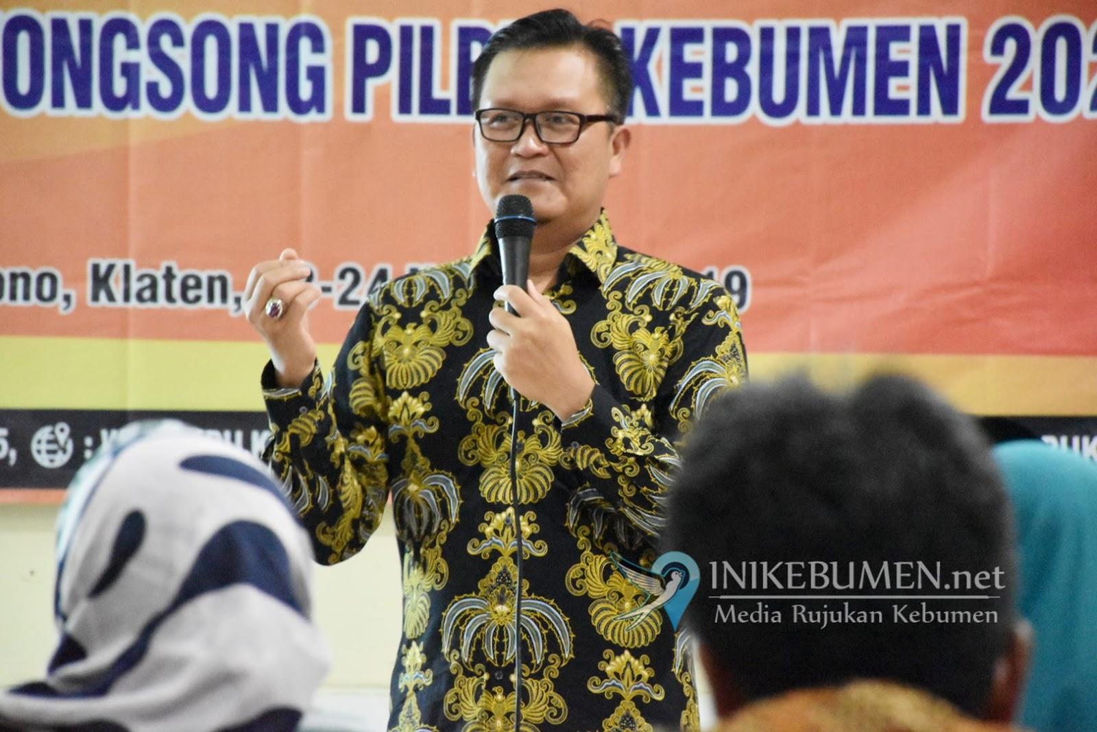 Imbas  Corona, KPU Kebumen Tunda Tiga Tahapan Pilkada 2020