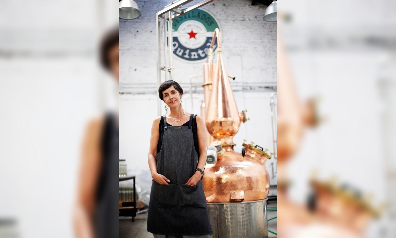 Tere Undurraga fabrica su propio gin