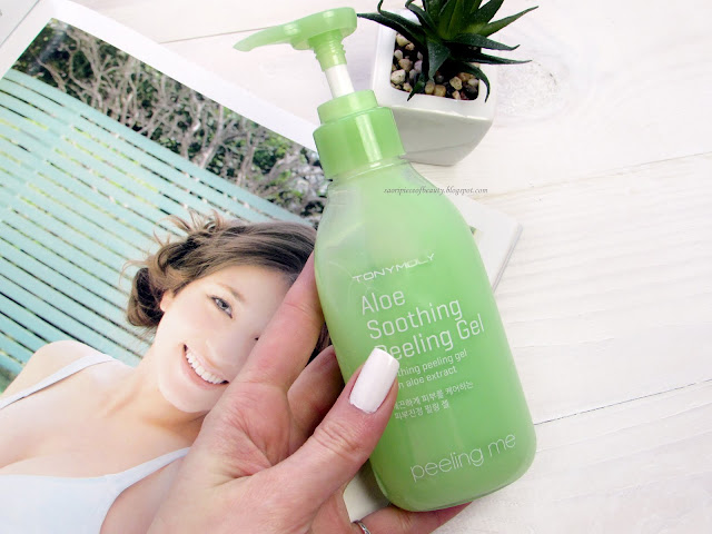 Пилинг-скатка с алоэ Peeling Me Aloe Peeling Gel от TonyMoly / блог A Piece of Beauty