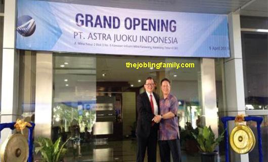 Loker Operator Terbaru PT Astra Juoku Indonesia Bulan November 2018