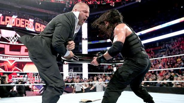 Triple H Destroyed Roman Reigns Before Wrestlemania 32 In A Cold Fight