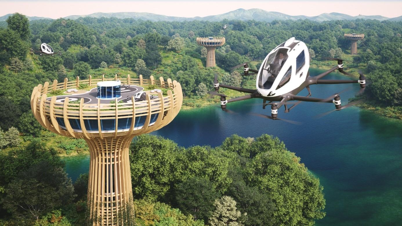 Italian design group to build vertiport