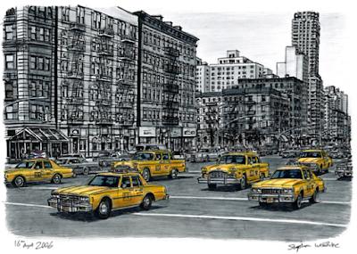 Seniman Autistik Menggambar Dengan Memori Fotografi