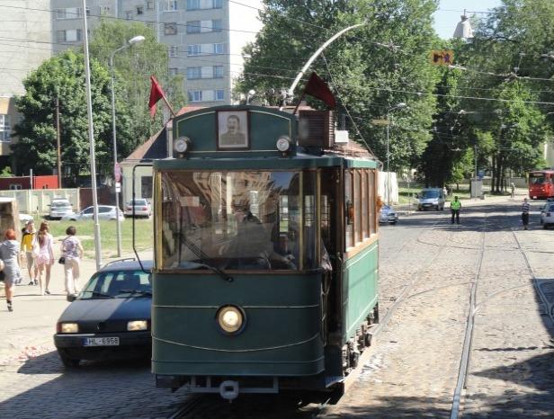 2011 год. Участие рижского ретро-трамвая в съёмках фильма