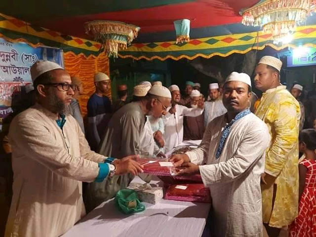 রামচন্দ্রপুর জামে মসজিদের উদ্যোগে ঈদে মিলাদুন্নবী উদযাপন
