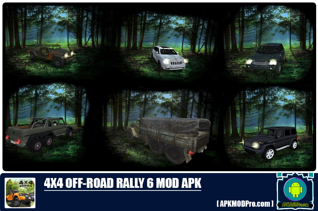 Download 4x4 Off-Road Rally 6 MOD APK