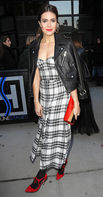 Get the Look for Less: Mandy Moore Edgy Plaid