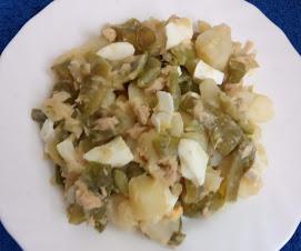 Ensalada De Judías Verdes Con Patata Y Compañía