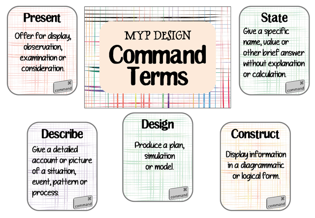 https://www.teacherspayteachers.com/Product/IB-MYP-Command-Terms-for-Design-4769966