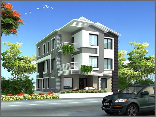 Hadapsar Pune Residential Building Designs
