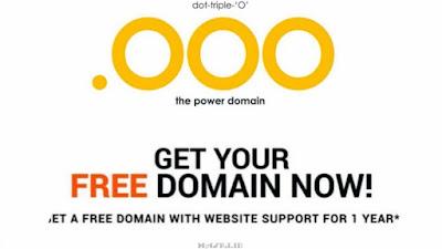 Tutorial Mendapatkan Domain Gratis .ooo
