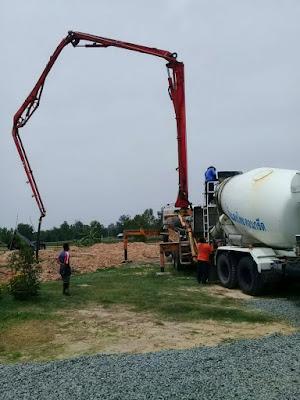 Buriram Surin Concrete Pumper Truck