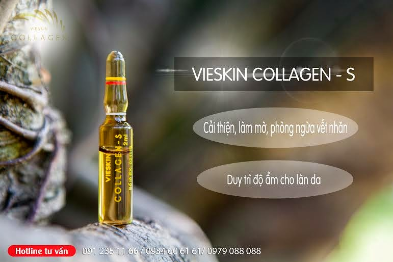 Tinh chất bôi Vieskin Collagen-S