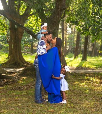 #BBNaija host Ebuka Obi Uchendu wife and kids in adorable photos