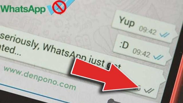 Cara Mematikan Tanda Centang Biru di WhatsApp