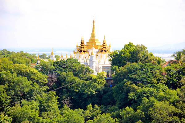 Restaurante de la Colina Sagaing Hill