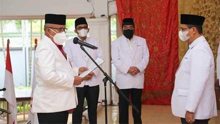 Pengurus PMI Kota Padang Dilantik