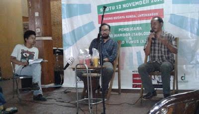 Mahasiswa Bandung Menggelar Diskusi tentang Jurnalisme di Papua