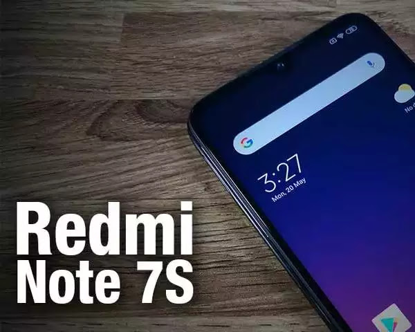 Redmi note 7S amazing looking smartphone
