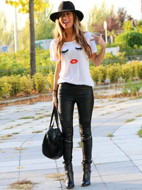 Eyelash and Lip T shirt