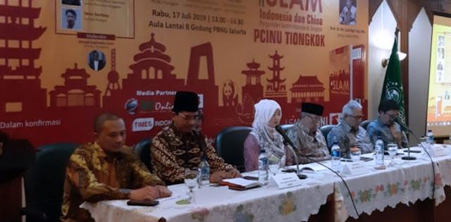 Kiai Said Aqil Apresiasi Langkah NU dalam Mengkampanyekan Islam Nusantara di Tiongkok